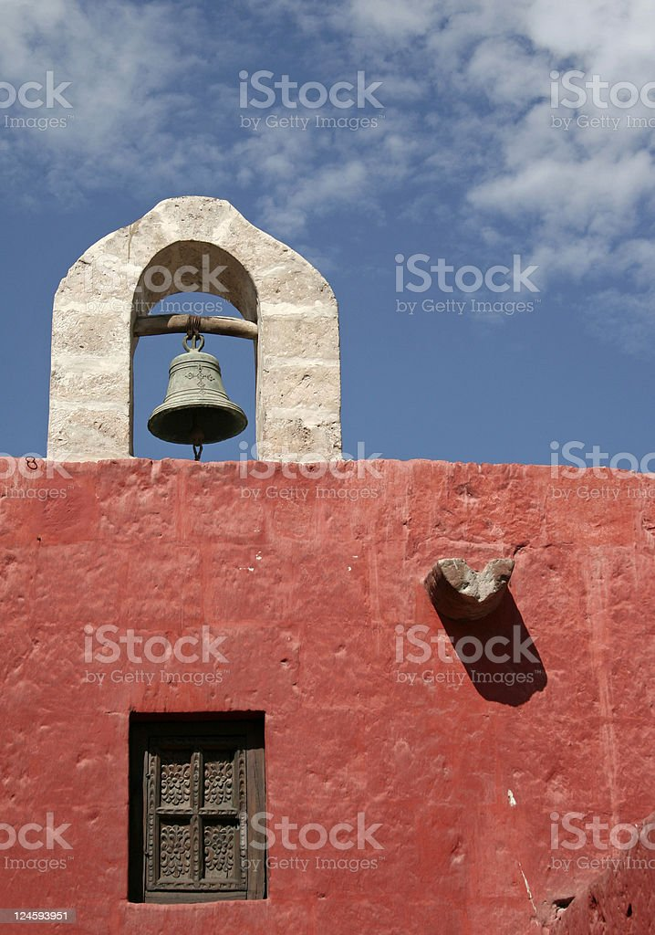 Bell on the roof  Architecture Stock Photo