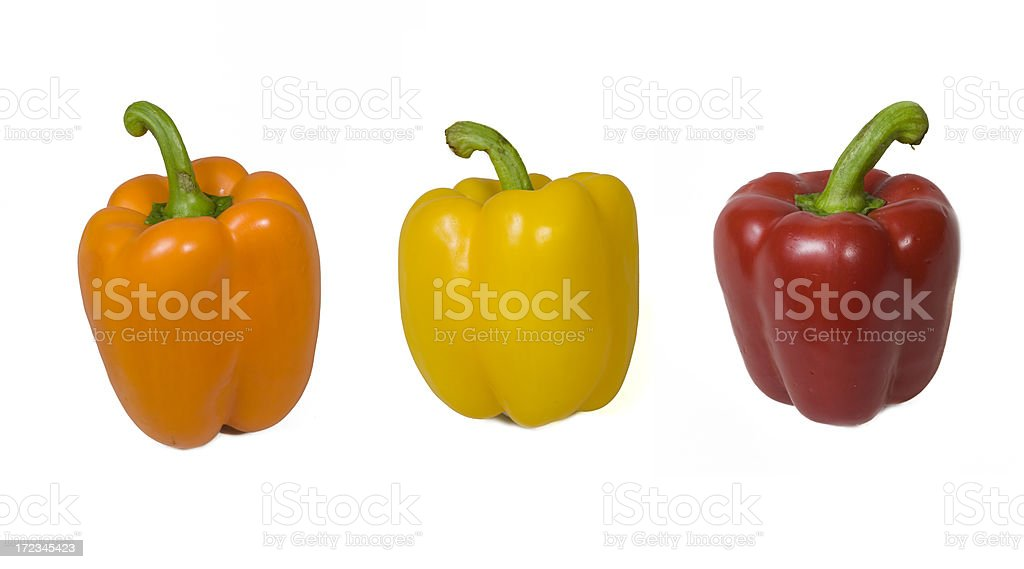 Bell Peppers XXL royalty-free stock photo