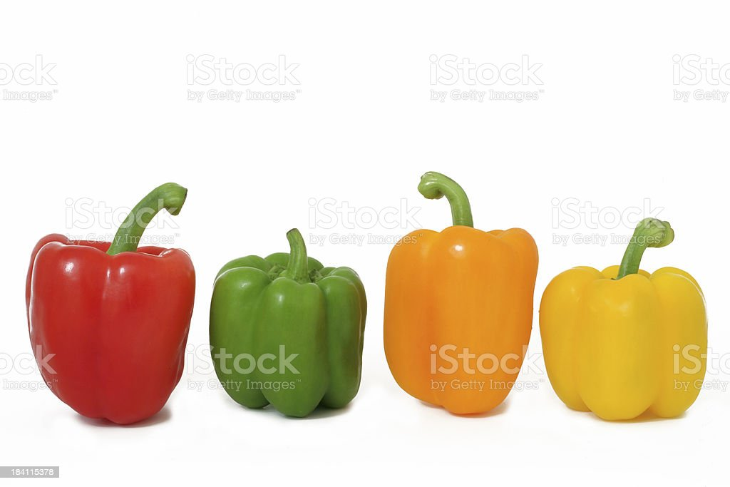 Bell Peppers XXL stock photo