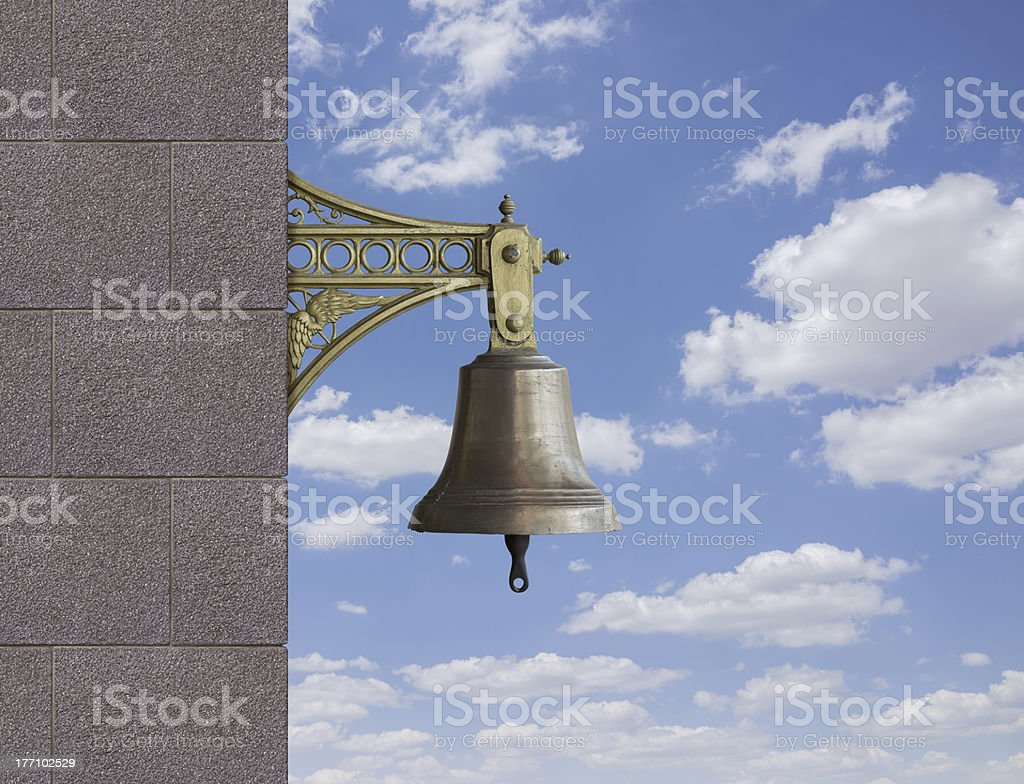 Bell royalty-free stock photo