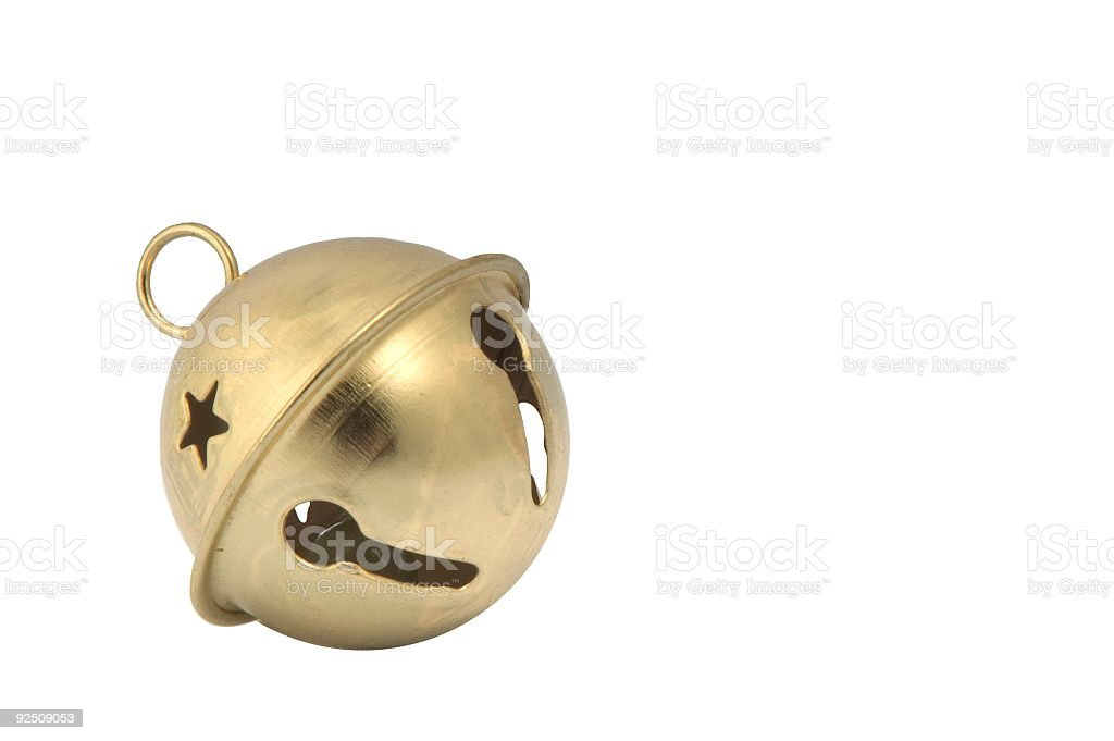 Bell (clipping path) stock photo