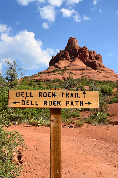 Bell Rock in Sedona stock photo