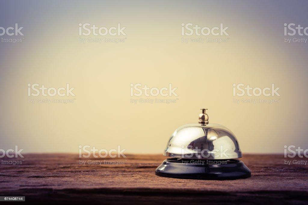 Bell service vintage stock photo