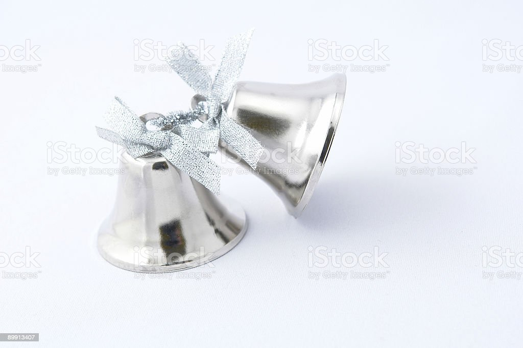 bell argento foto stock royalty-free
