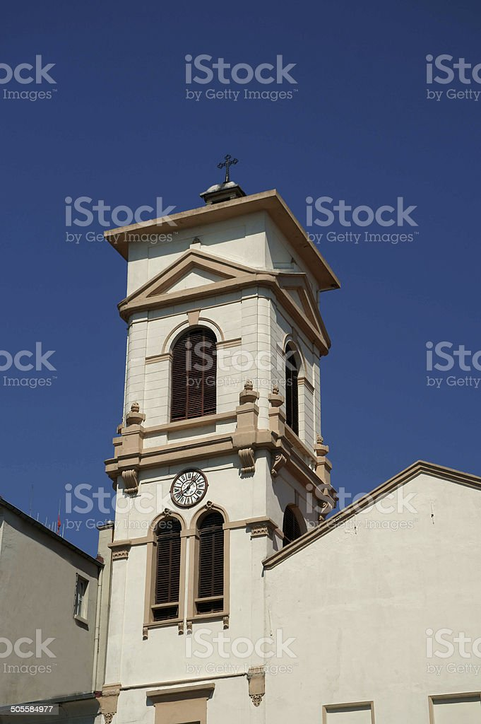 Bell Tower and Clock royalty-free stock photo