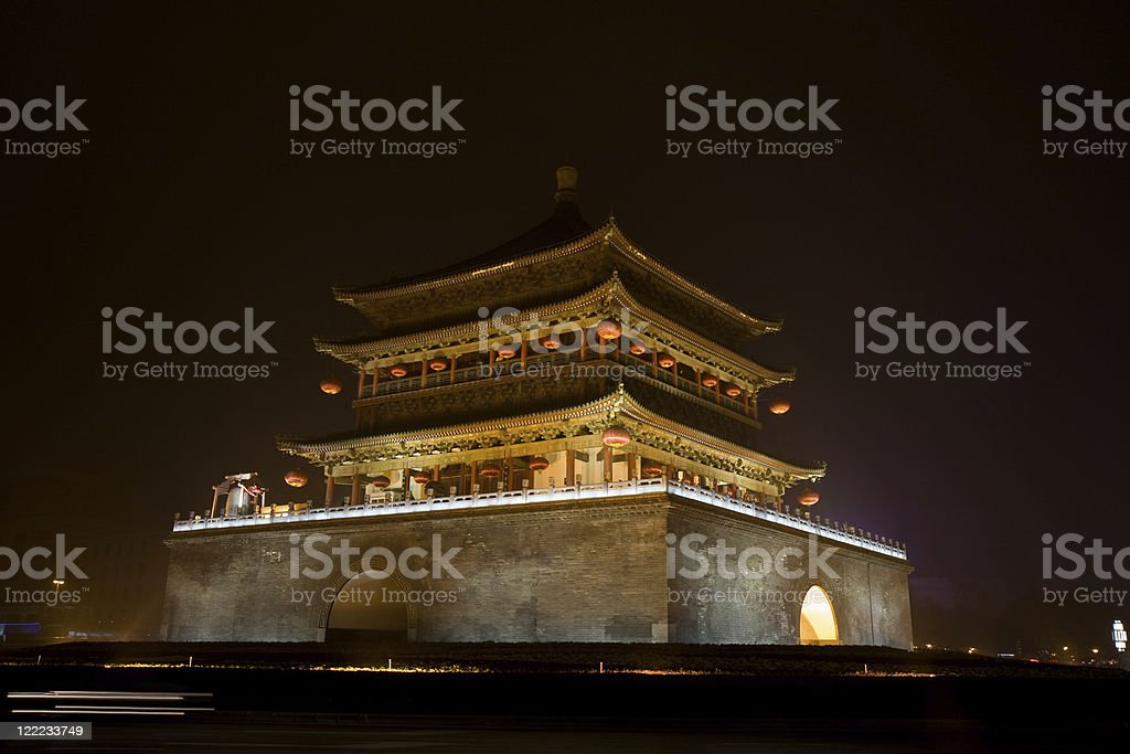 Bell Tower, China royalty-free stock photo