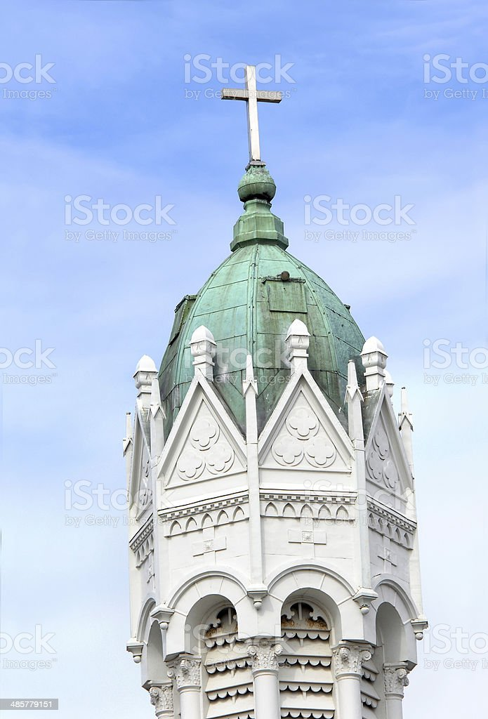 Bell tower of St. Anthony stock photo