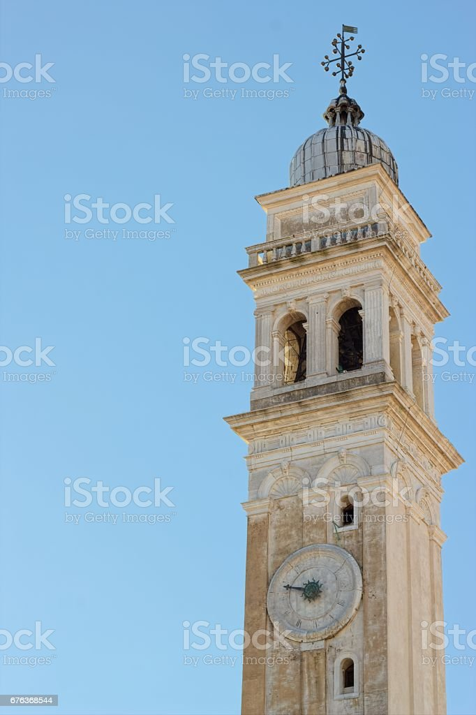 Bell tower of Venice stock photo