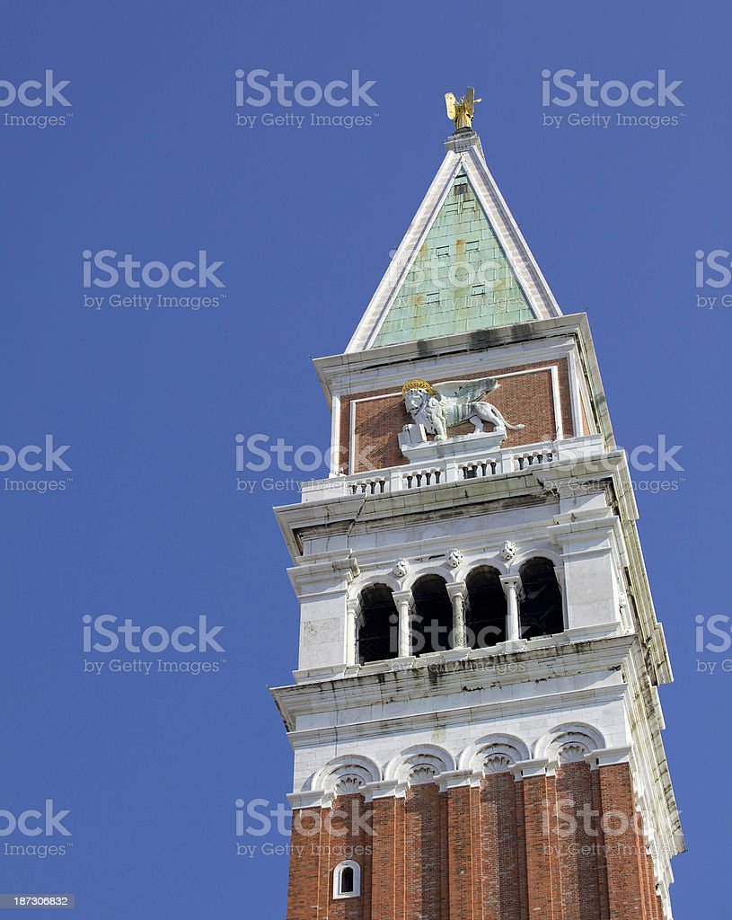 campanile royalty-free stock photo