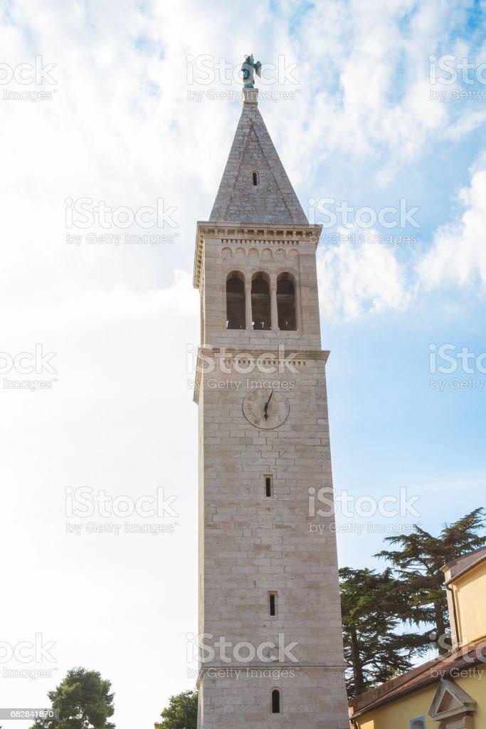 Bell tower mit Uhr Lizenzfreies stock-foto