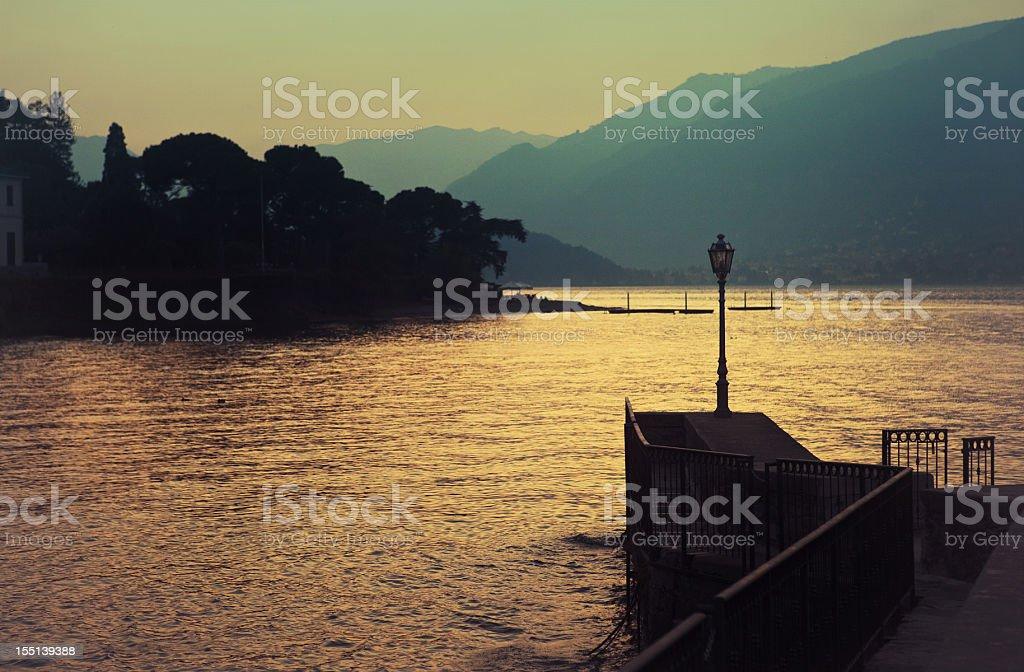 Bellagio - Como Lake in italy royalty-free stock photo