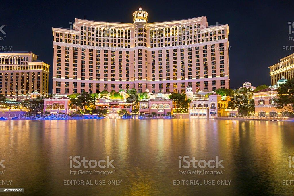 Bellagio Hotel Casino stock photo