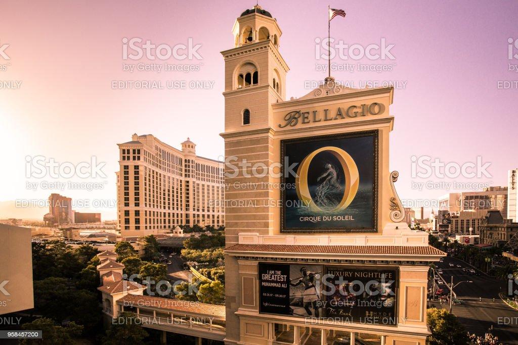 Bellagio Vegas stock photo