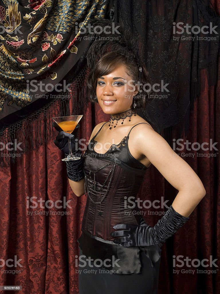 Belle Epoque Inviting stock photo