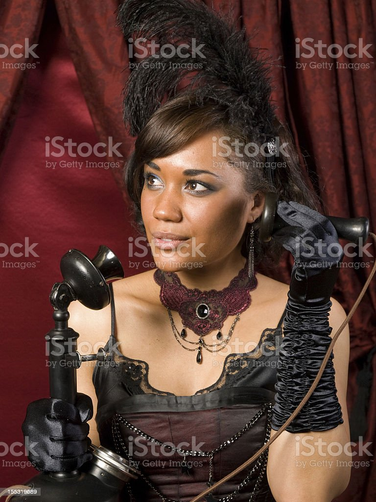Belle Epoque Long Distance royalty-free stock photo