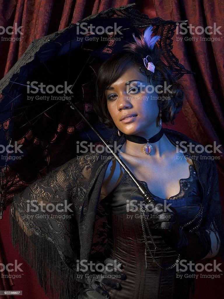 Belle Epoque Noir stock photo