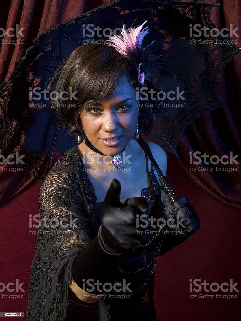 Belle Epoque Pointing stock photo