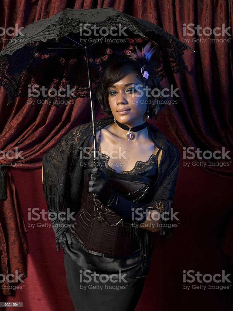 Belle Epoque Seductive stock photo