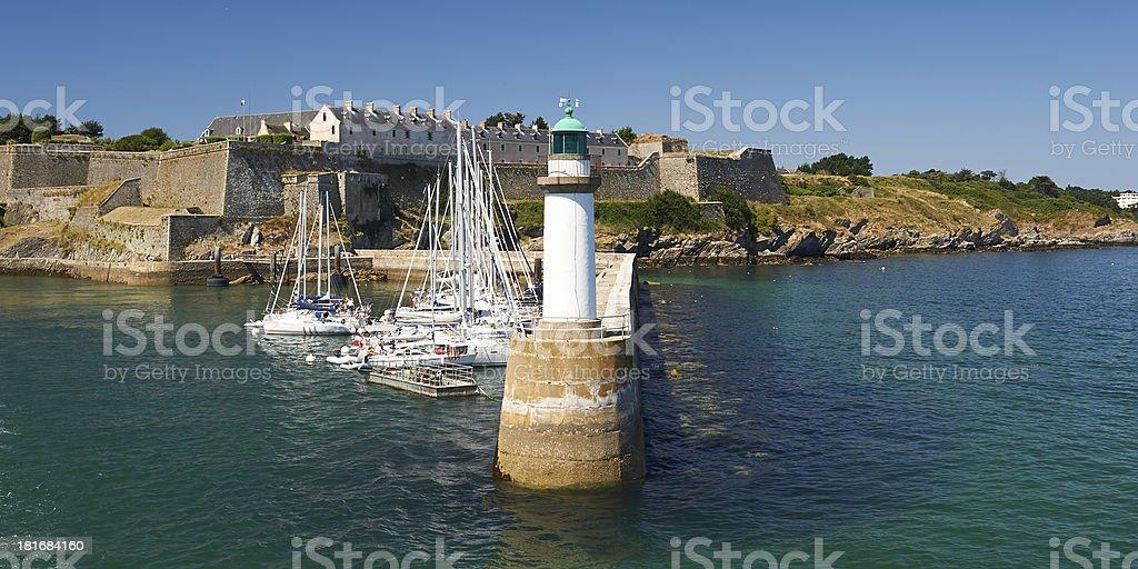 belle-ile-en-mer in der Bretagne – Foto