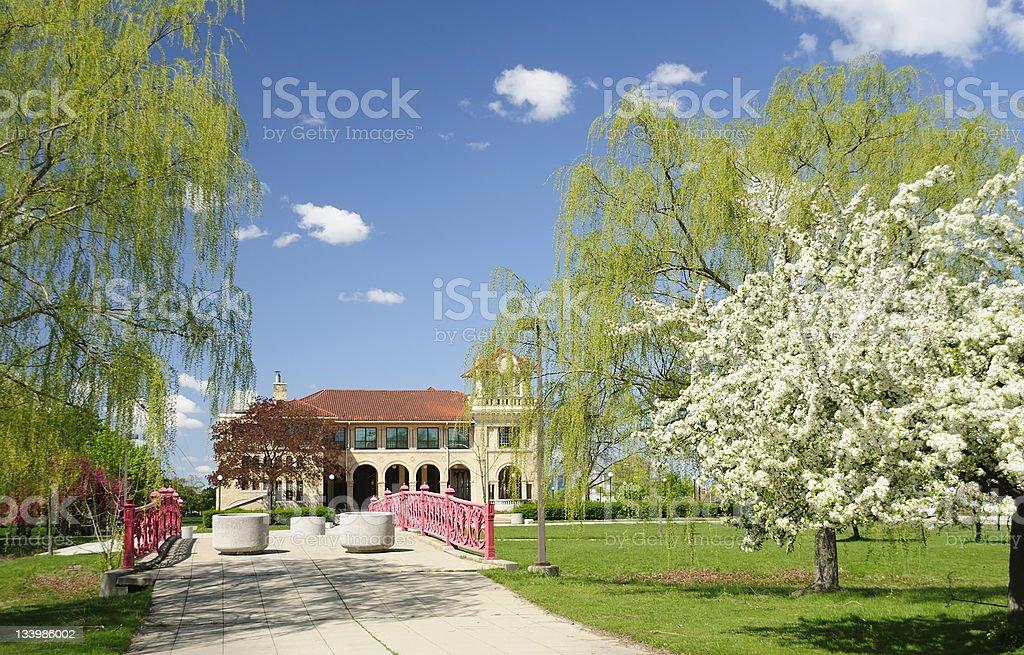 Belle Isle, Casino royalty-free stock photo
