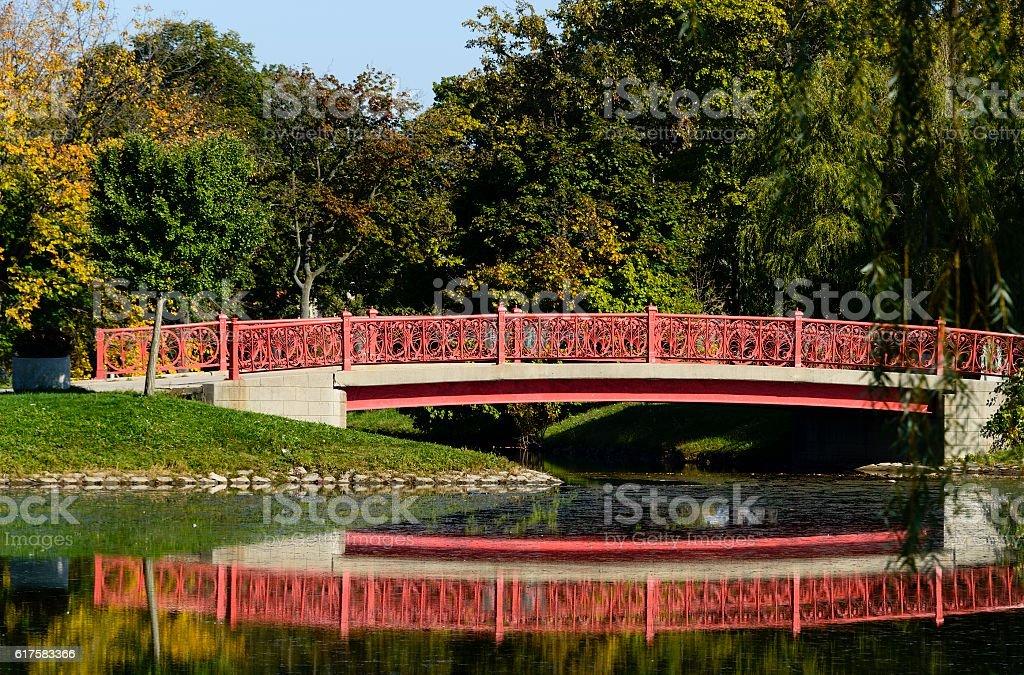 Belle Isle City Park stock photo