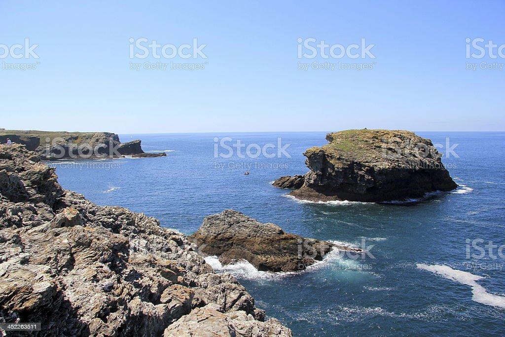 Belle-Île-en-Mer in Brittany stock photo