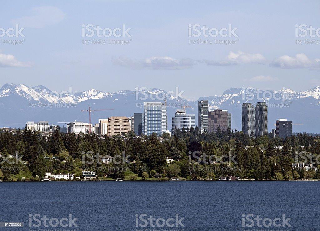 Bellevue stock photo