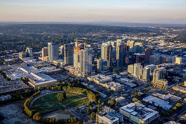 Cidade de Bellevue - foto de acervo