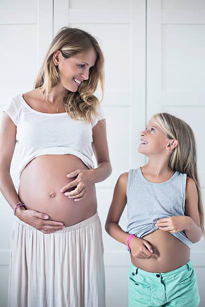 Bellies stock photo