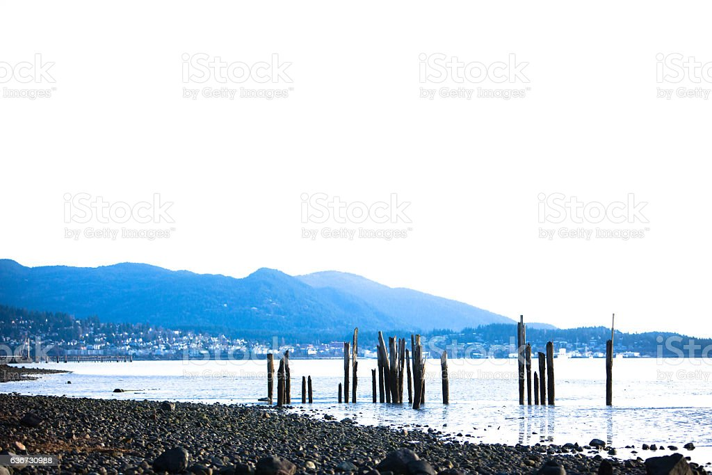 Bellingham Bay stock photo