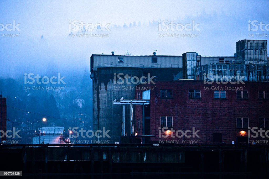 Bellingham Mist stock photo
