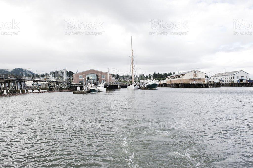 Bellingham Waterfront stock photo