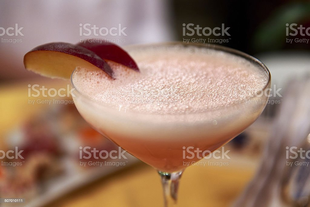 Bellini Cocktail stock photo