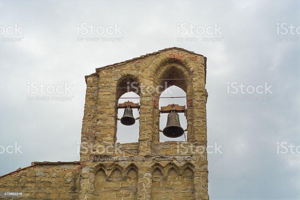 Bells of Arezzo stock photo