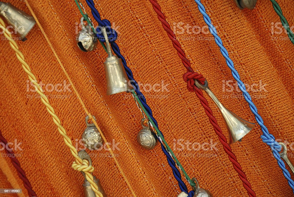 Bells on Ropes royalty-free stock photo