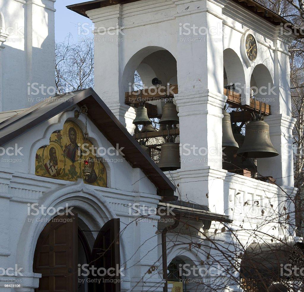 Belltower cloister. royalty-free stock photo