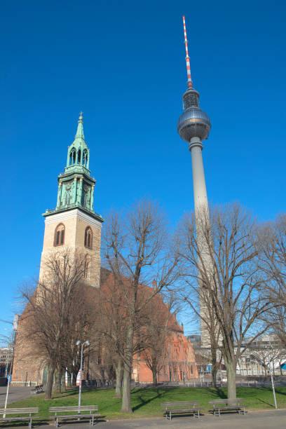 Glockenturm der Marienkirche – Foto
