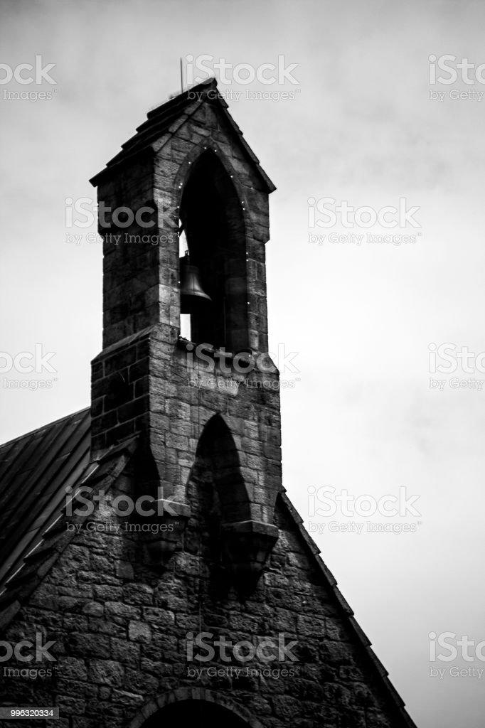 Belltower stock photo