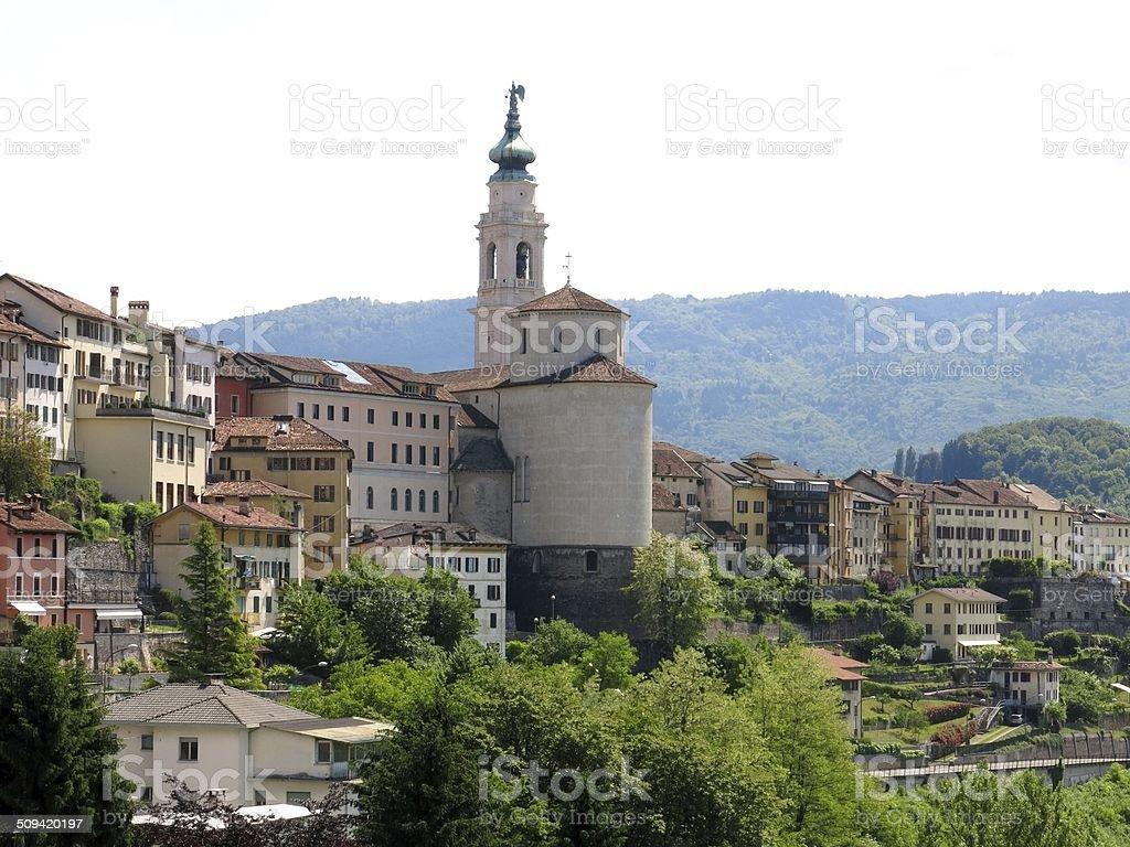 Belluno Kirche Stadt, Italien – Foto