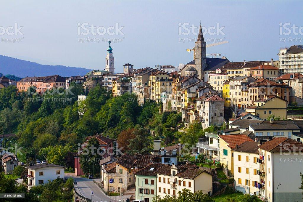 Belluno- Ansicht der Kathedrale – Foto