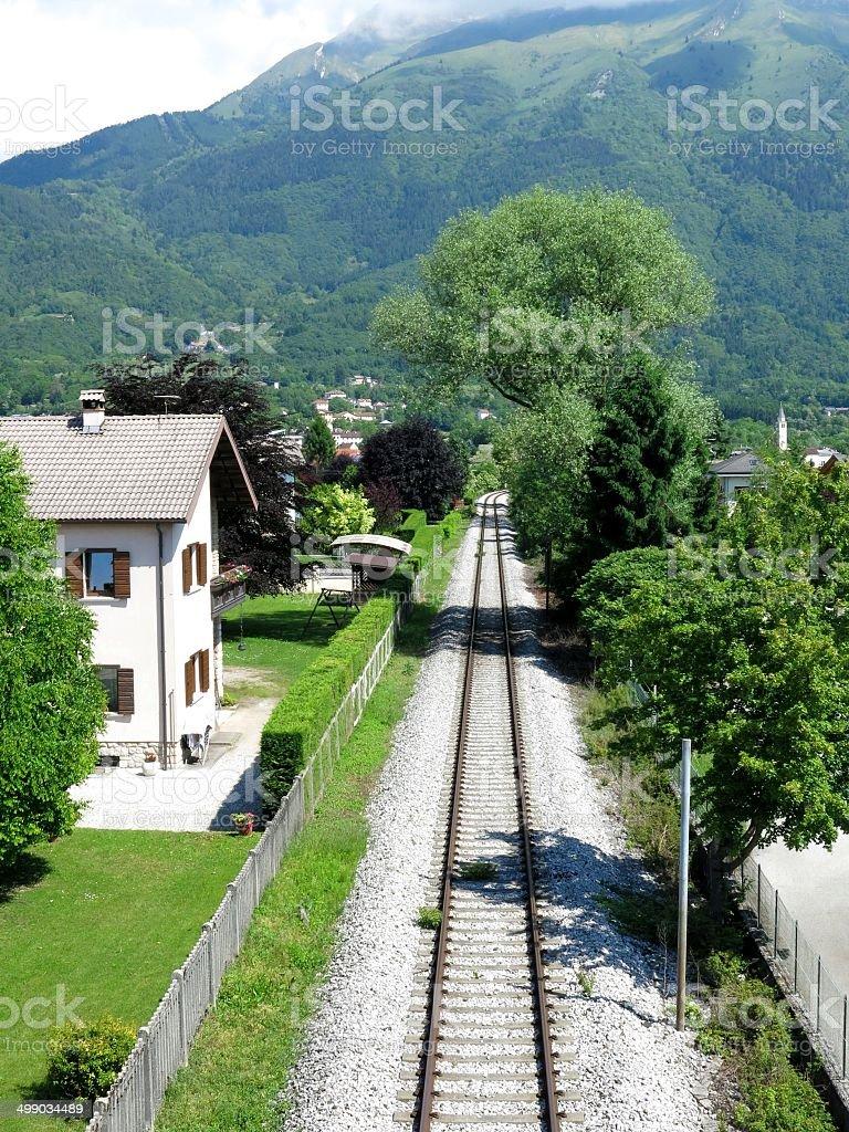 Belluno Village Railroad Italien – Foto