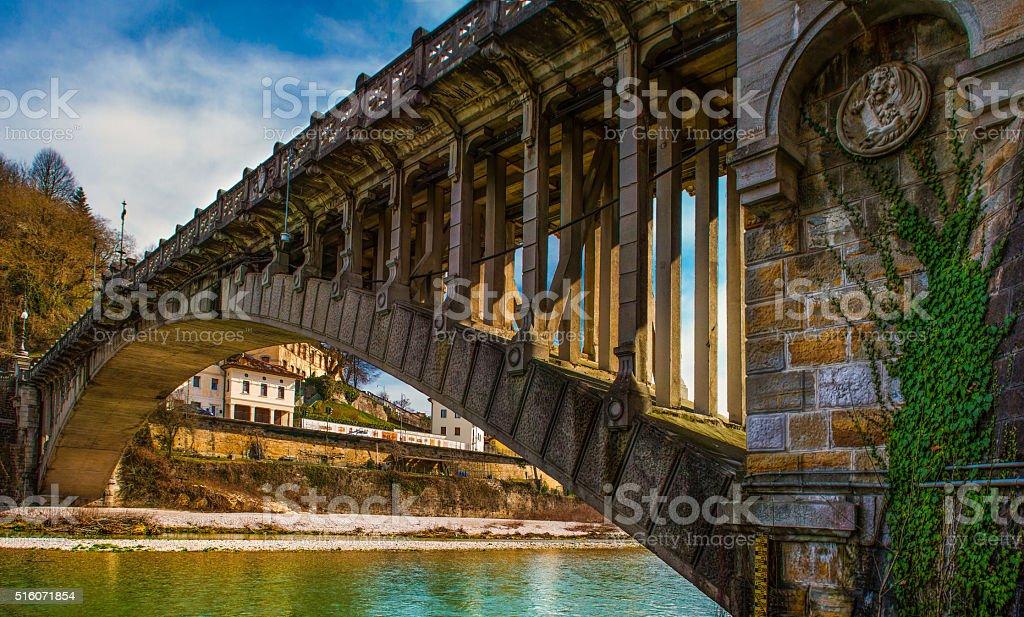 Belluno-Ponte della Vittoria - foto stock