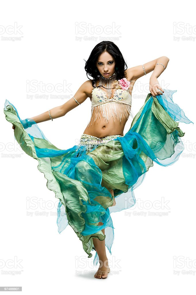 Belly dance royalty-free stock photo