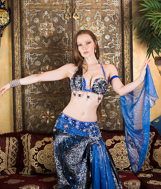 belly dancer - arabic girl stock photos and pictures