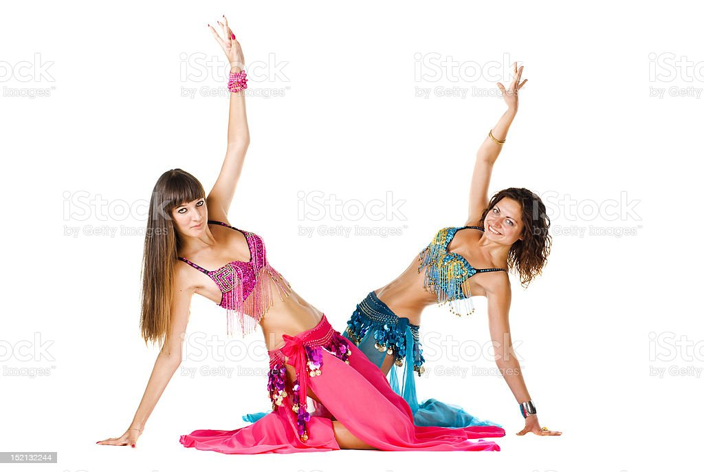 Belly Dancers royalty-free stock photo