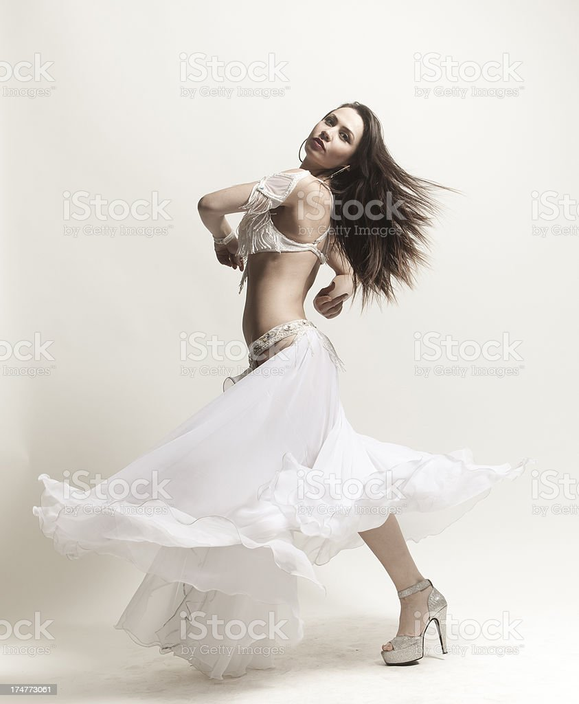 Belly Dancing royalty-free stock photo