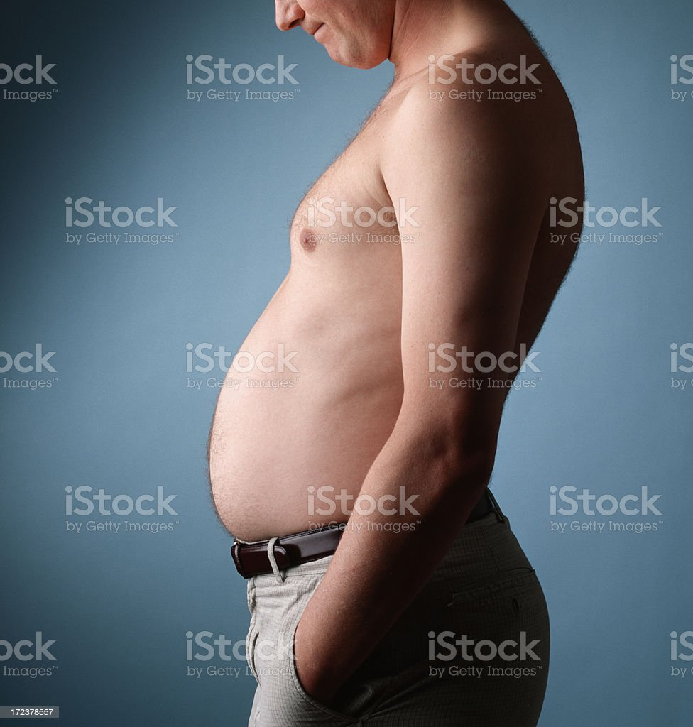Belly Overlook royalty-free stock photo