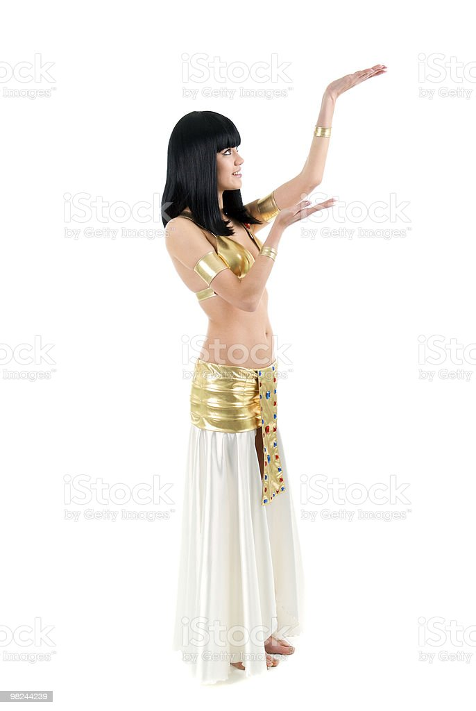 Bellydance woman royalty-free stock photo