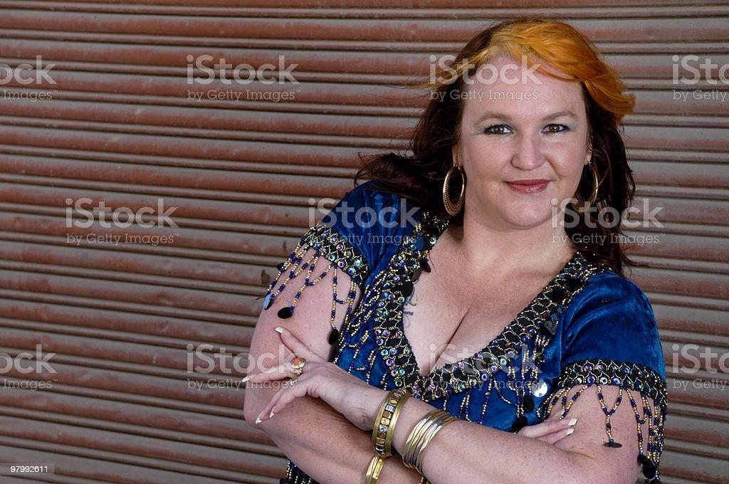 Bellydancer royalty free stockfoto