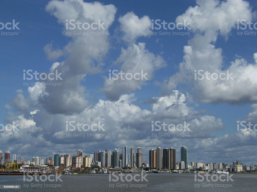 Belém do Para royalty-free stock photo